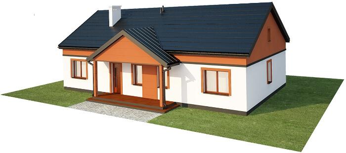 Projekt domu L-6591 - model