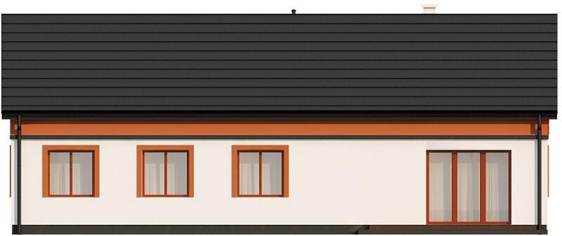 Projekt domu L-6591 - elewacja