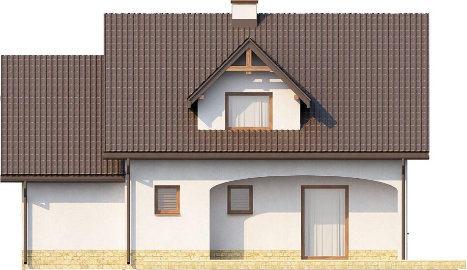 Projekt domu DM-6218 - elewacja