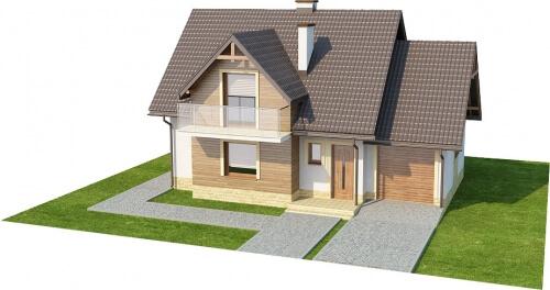 Projekt domu DM-6218 - model