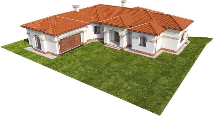 Projekt domu L-6595 - model