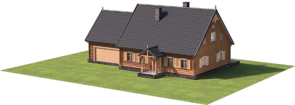 Projekt domu L-6535 - model