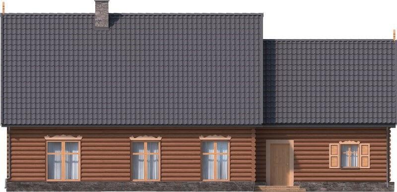 Projekt domu L-6535 - elewacja
