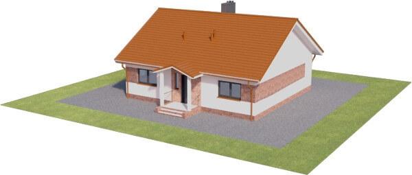 Projekt domu L-6603 - model