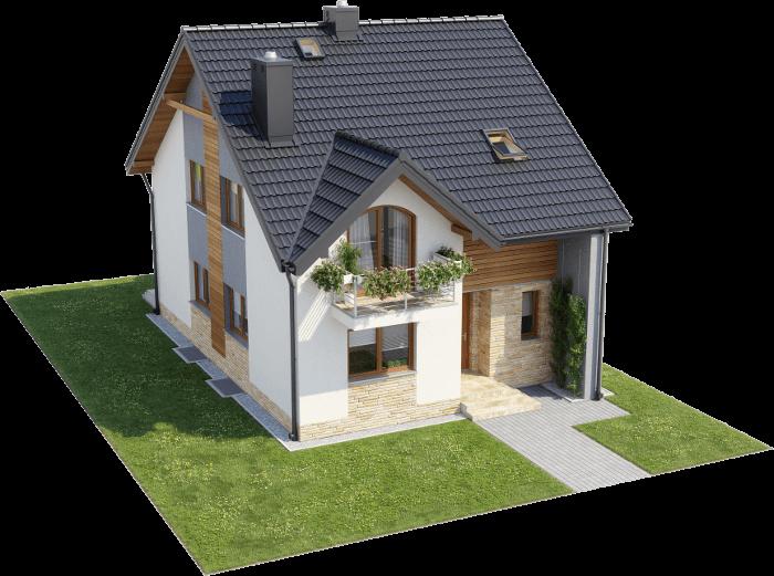 Projekt domu L-6605 - model