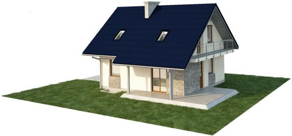 Projekt domu L-6143 E - model