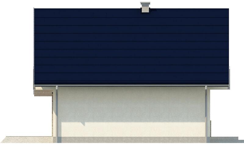 Projekt domu L-6143 E - elewacja