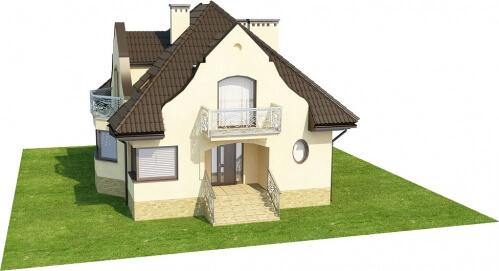 Projekt domu DM-6219 - model