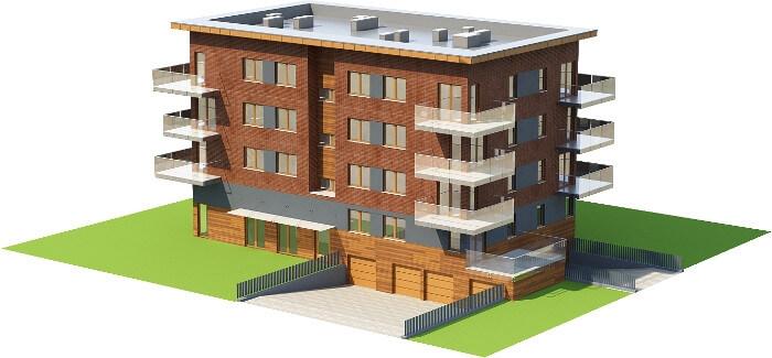 Projekt domu DM-6600 - model