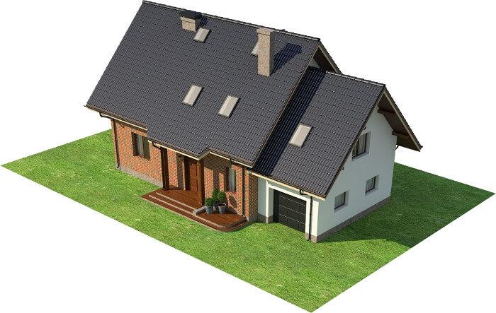 Projekt domu DM-6610 - model