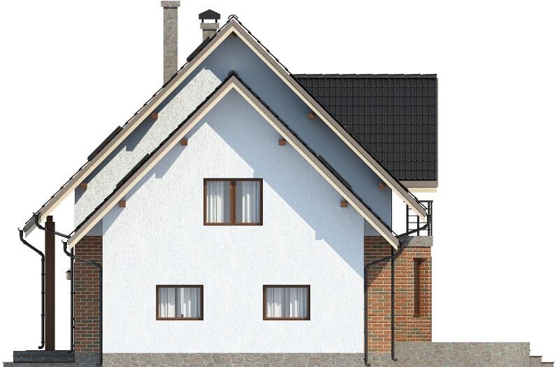 Projekt domu DM-6610 - elewacja