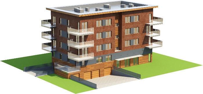 Projekt domu L-6600 - model