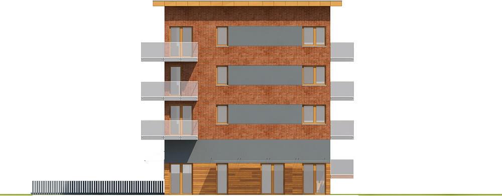 Projek budynku wielorodzinnego