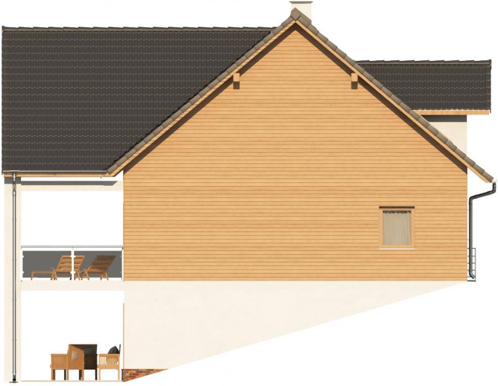 Projekt domu DM-6611 - elewacja