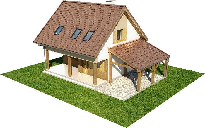 Projekt domu DM-6609 - model