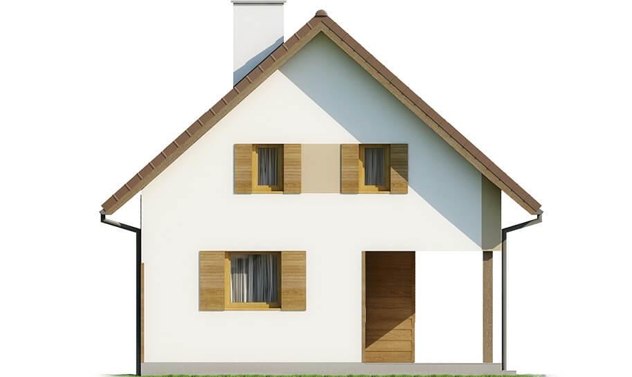 Projekt domu DM-6609 - elewacja