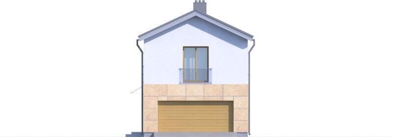 Projekt domu DM-6597 - elewacja