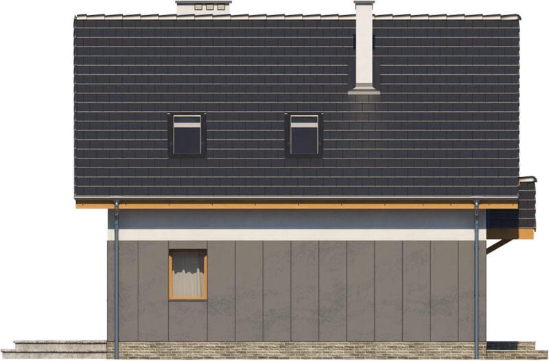 Projekt domu DM-6522 - elewacja