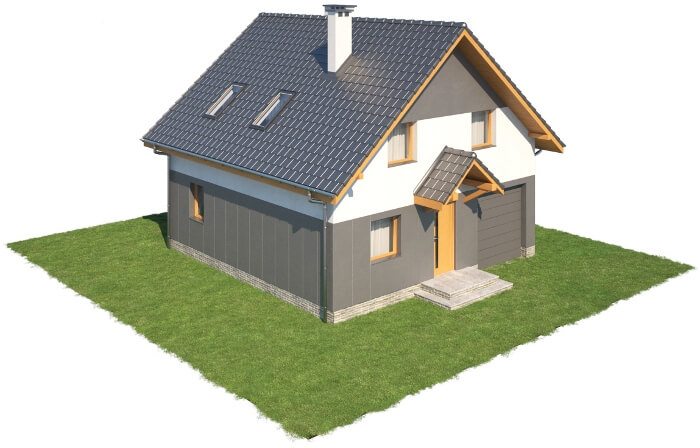 Projekt domu DM-6522 - model