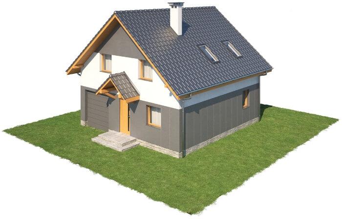 Projekt domu L-6522 - model