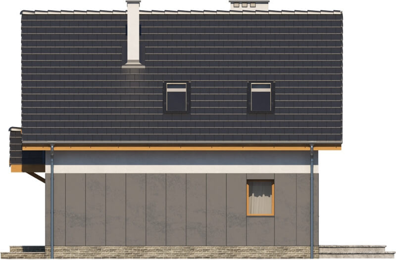 Projekt domu L-6522 - elewacja