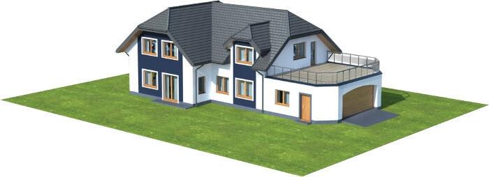Projekt domu L-6608 - model