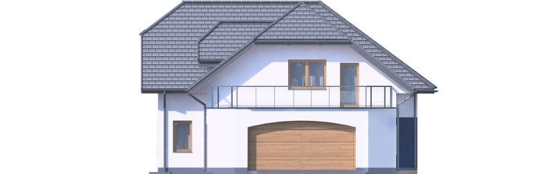 Projekt domu L-6608 - elewacja