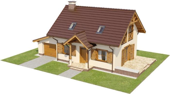 Projekt domu DM-6527 - model