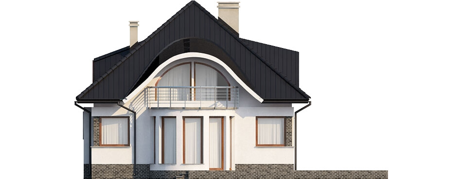 Projekt domu DM-6221 - elewacja