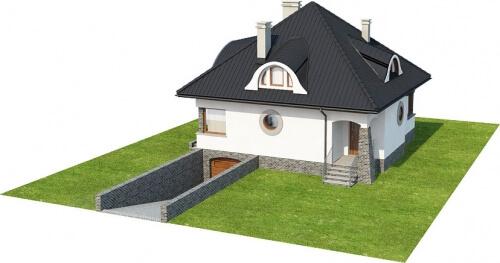 Projekt domu DM-6221 - model