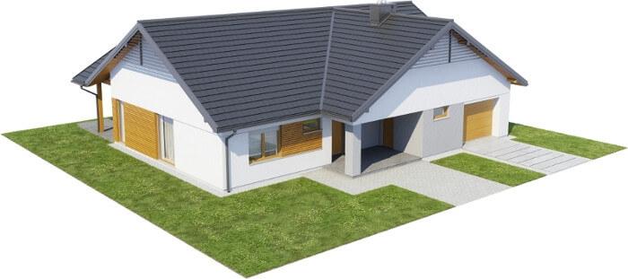 Projekt domu DM-6615 - model
