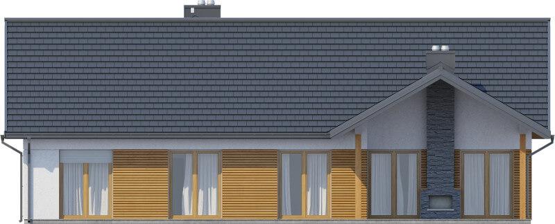 Projekt domu DM-6615 - elewacja