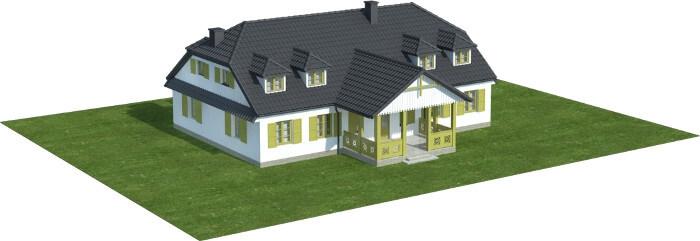 Projekt domu DM-6601 - model