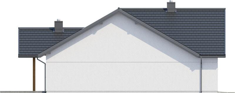 Projekt domu L-6615 - elewacja