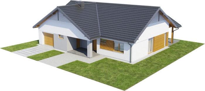 Projekt domu L-6615 - model