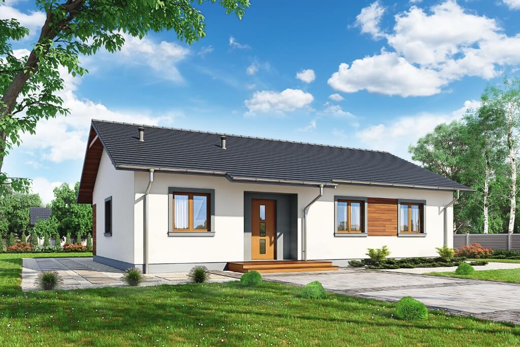 Projekt Domu Celozja 1 Dm 6616 Pow Uż 9983 M2