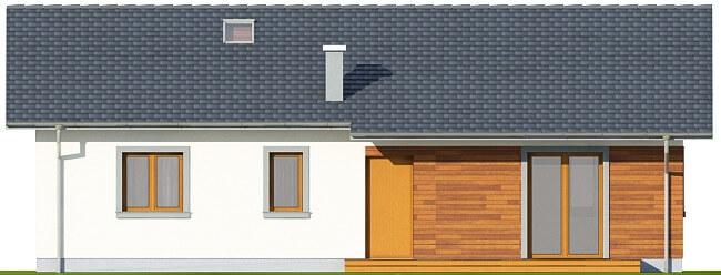 Projekt domu DM-6616 - elewacja