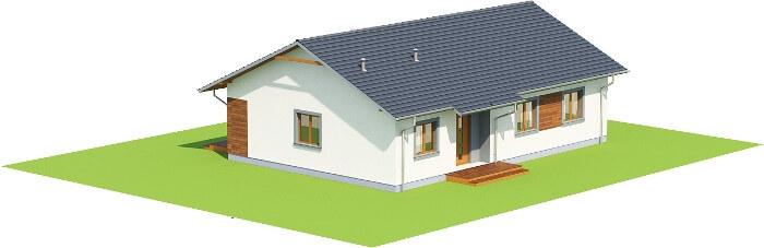 Projekt domu DM-6616 - model