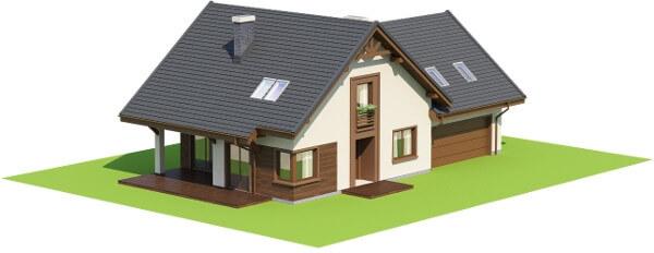 Projekt domu DM-6524 - model