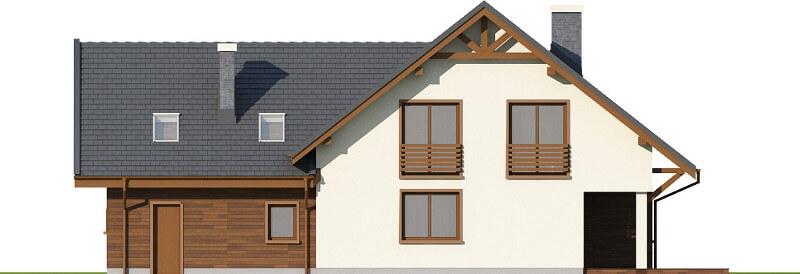 Projekt domu DM-6524 - elewacja