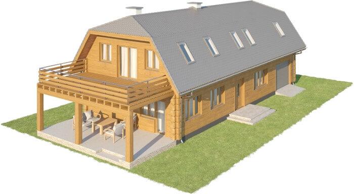 Projekt domu DM-6606 - model