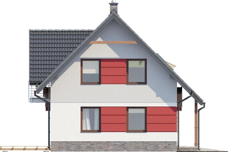 Projekt domu DM-6525 - elewacja