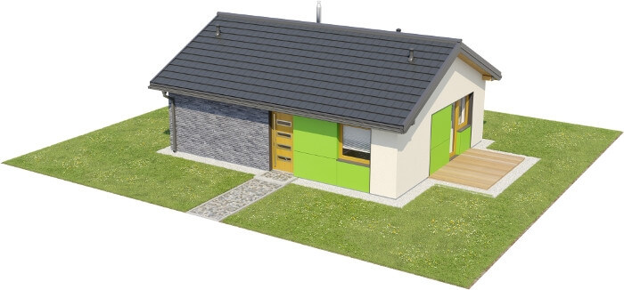Projekt domu DM-6632 - model