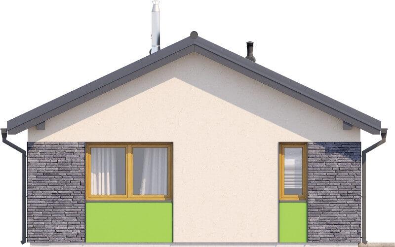 Projekt domu DM-6632 - elewacja
