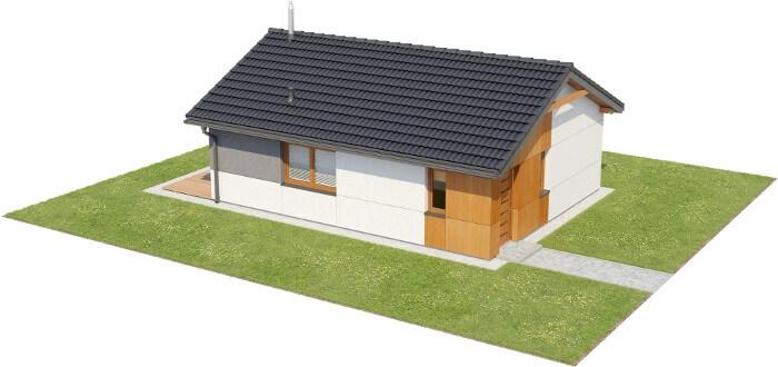 Projekt domu DM-6634 - model