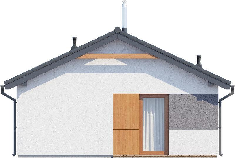 Projekt domu DM-6634 - elewacja