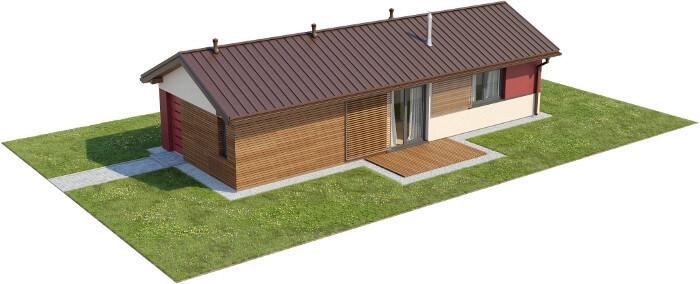 Projekt domu DM-6633 - model