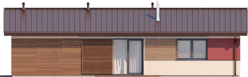 Projekt domu DM-6633 - elewacja