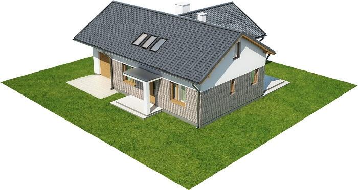 Projekt domu DM-6619 - model
