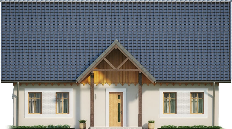 Projekt domu DM-6607 - elewacja